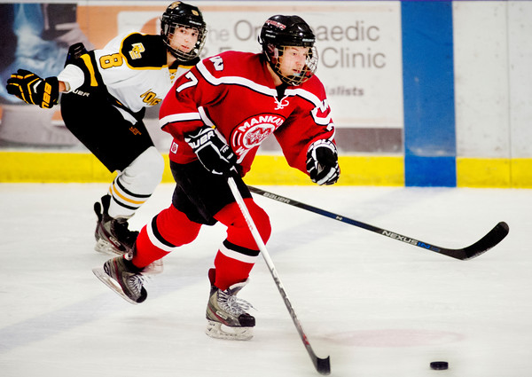 Mankato West girls hockey Courtney Bloemke
