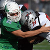 Maple River football defense