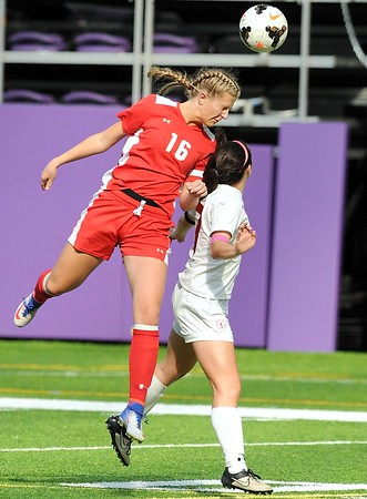 Mankato West girls soccer v. Benilde-St. Margaret's 2