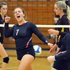 St. Peter volleyball v. Blue Earth Area 1
