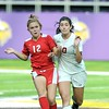 Mankato West girls soccer v. Benilde-St. Margaret's 4