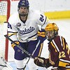 MSU men's hockey Hookenson