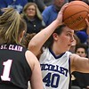 Loyola girls basketball Megan Frutiger