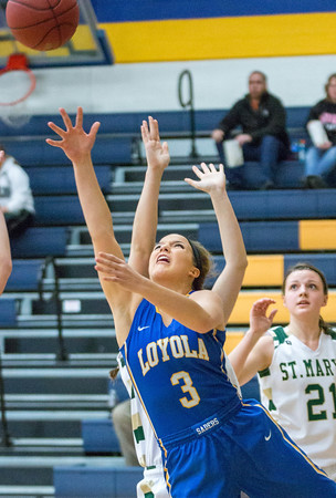 Loyola Girls Basketball Lindsey Theuninck