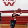 Mankato West girls basketball's Hannah Hastings