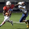 Mankato West football v. Mahtomedi 2