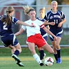 Mankato West girls soccer v. St. Peter