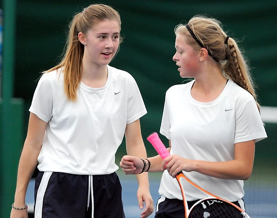 St. Peter girls tennis doubles