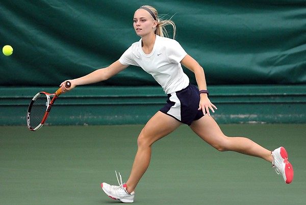 St. Peter girls tennis singles