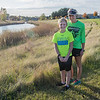 Kris Anderson (right) and her son Isaiah Anderson will be running in the 10K run of the Mankato Marathon. Photo by Jackson Forderer