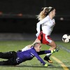 Mankato West girls soccer v. North Branch 5
