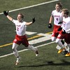 Mankato West boys soccer v. Bemidji