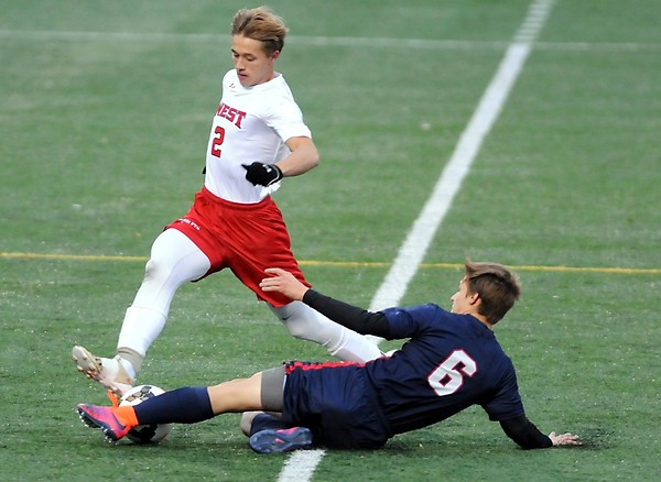 Mankato West boys soccer v. Bemidji 5