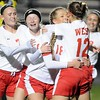 Mankato West girls soccer v. North Branch 3