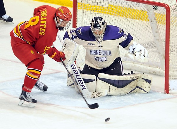 MSU men's hockey v. Ferris State 3