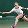 St. Peter girls tennis section tournament