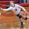 Mankato West volleyball v. New Ulm 2