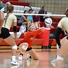 Mankato West volleyball v. Rochester Mayo 1