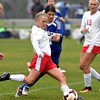 Mankato West girls soccer v. Kasson-Mantorville 1