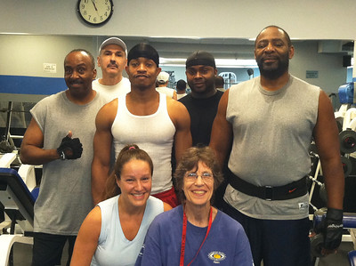 This is my weight lifting family.  They have supported me through the hard times and I love them all...