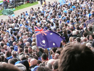 Yes! Australian Flag with the Portsmouth Logo!