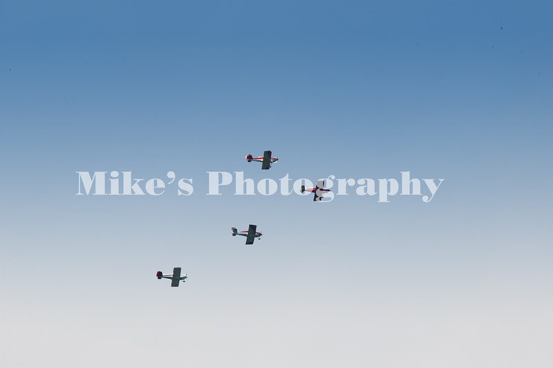A fly over during the game