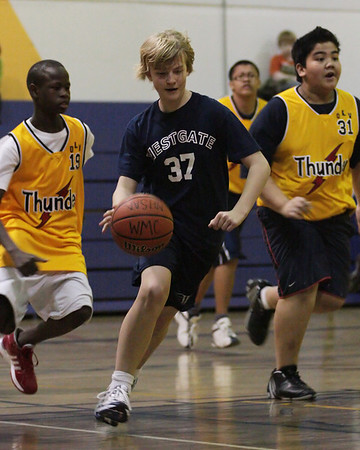 Westgate Grade 7 Boys Basketball 2009