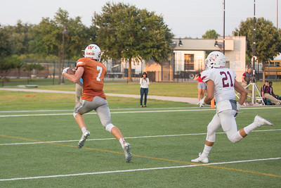 Westwood Junior Dylan Frazier scores a touchdown against Rouse Friday at  Kelly Reeves Athletic Complex.