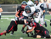 wrapped up   7  Thomas Paxton    tackled by 1 (left) Courtney Anderson 52 behind Jake Green and 40 right Austin Berry