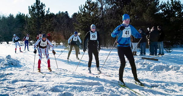 Record-Eagle/Douglas Tesner<br /> <br /> White Pine Stampede 40K Race