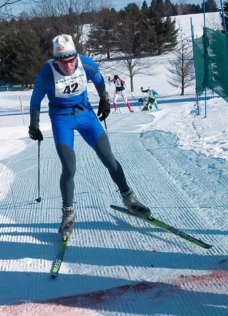 Record-Eagle/Douglas Tesner<br /> <br /> Third Place White Pine Stampede 40K Race