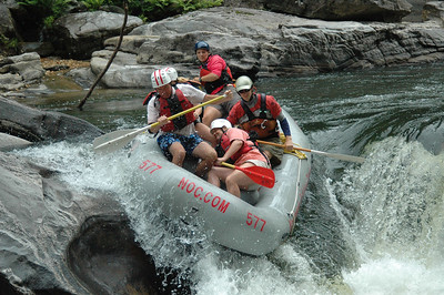 White Water Rafting the Chattooga