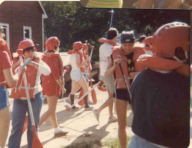1983-6 Gearing Up for Rafting the Pestigo River