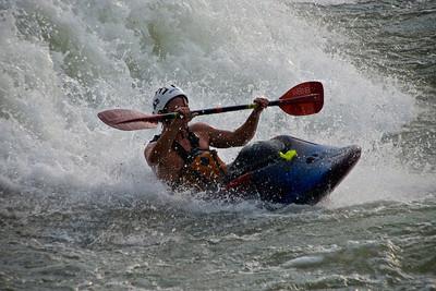 Rome Georgia Kayaker