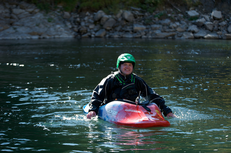 Evan Howard, Snake River, Wyoming