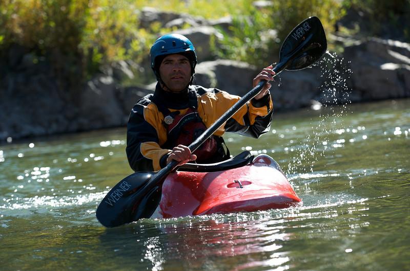 Dane Stevens, Snake River, Wyoming