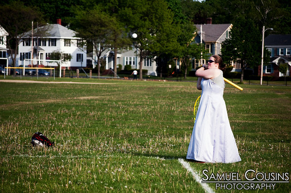 A prom-theme day at Port Sports's wiffle ball league