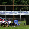 Spectators watch the Wifflin' For Wishes tournament at McLaughlin Field in Leominster on Saturday morning.  Proceeds from the event are to be donated to the Make-A-Wish Foundation. SENTINEL & ENTERPRISE / Ashley Green