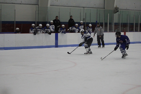 Wildcats JV hockey vs. W. Spgfld 2-16-12