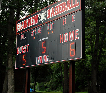 Williamsport team July 12th in Plainview, the other team won  we were home and in the next inning guest scored 5 runs
