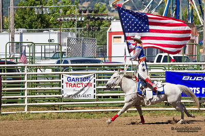 WILLITS, CA - JULY 4: Participant at the Willits Frontier Days, California's oldest continuous rodeo, held July 4, 2011 in Willits, CA.
