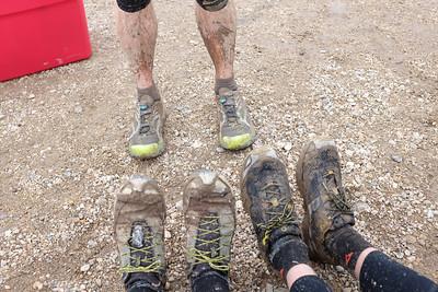 Comparing mud coverage.