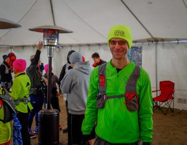 Pre-race, final details.  Photo:  Bill Leahy