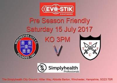WCFC (4) v Hanwell Town (0) 15.7.2017 (PSF)