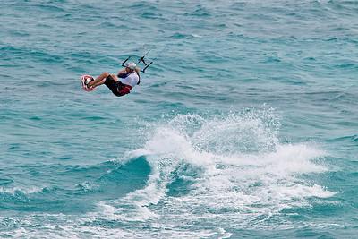 Kite surfing, Barbados