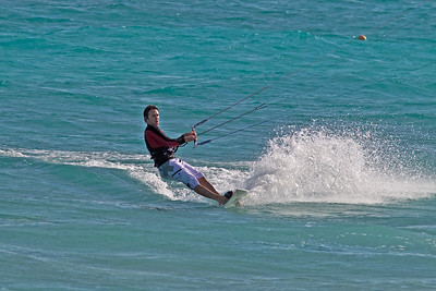 Kite surfing, Barbados