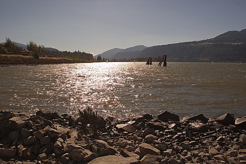 Hood River Kite Surfing - 07/11/2010