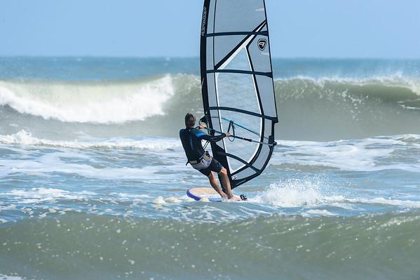 Windsurfer 11-24-12 Canaveral Shores