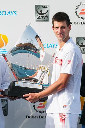 Tennis - ATP World Tour - The Barclays Dubai Tennis Championships, 28 February 2010