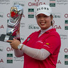 Golf.  Omega Dubai Ladies Masters, Dubai, UAE. 8 Dec 2012
